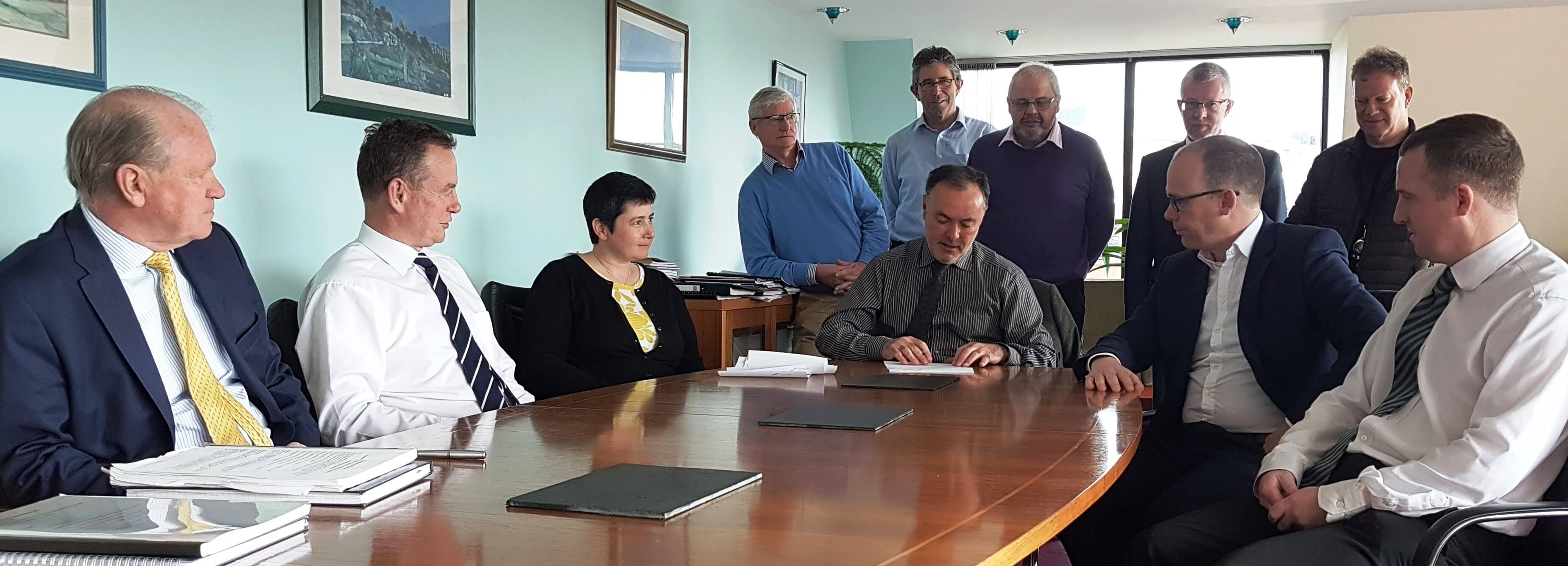 Commissioner Signs Reval 2019
